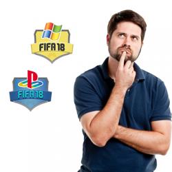 Режим 1х1. Платформы FIFA18 PC и FIFA18 PS4