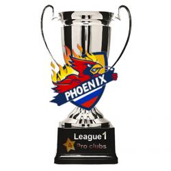 Еще раз поздравляем парней из Phoenix с победой!   Phoenix досрочный чемпион Первой лиги!  ПРОФИ режим 4Stars