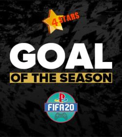 Доброго времени суток всем участникам 4Stars!    Открыто голосование - «Лучший гол 125  сезона FIFA20 PS4»