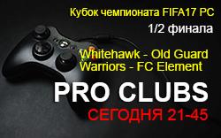 Кубок чемпионата Pro FIFA17 PC